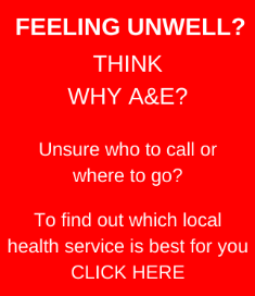Think why A&E?