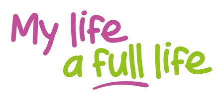 My life a full life Colour logo