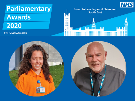 Trust care heroes honoured in NHS Parliamentary Awards