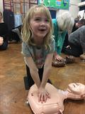 Wight Stroller child does CPR