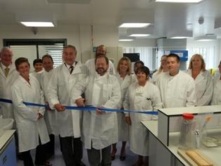 New Island Pathology Laboratory opened by Health Minister