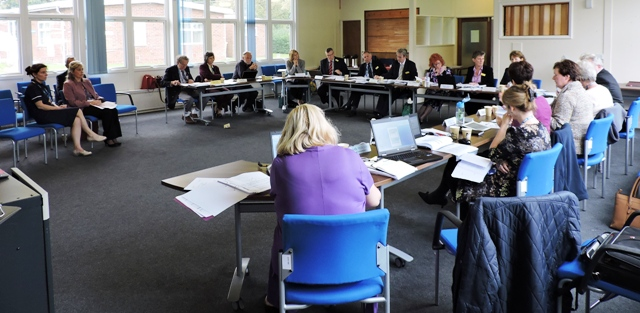 Trust Board Meeting in session - Oct 2015