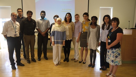 Recent delegates of the International Doctors' Induction course